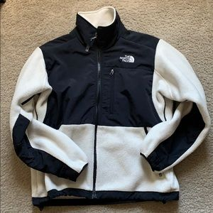 Cream Fleece North Face Jacket!